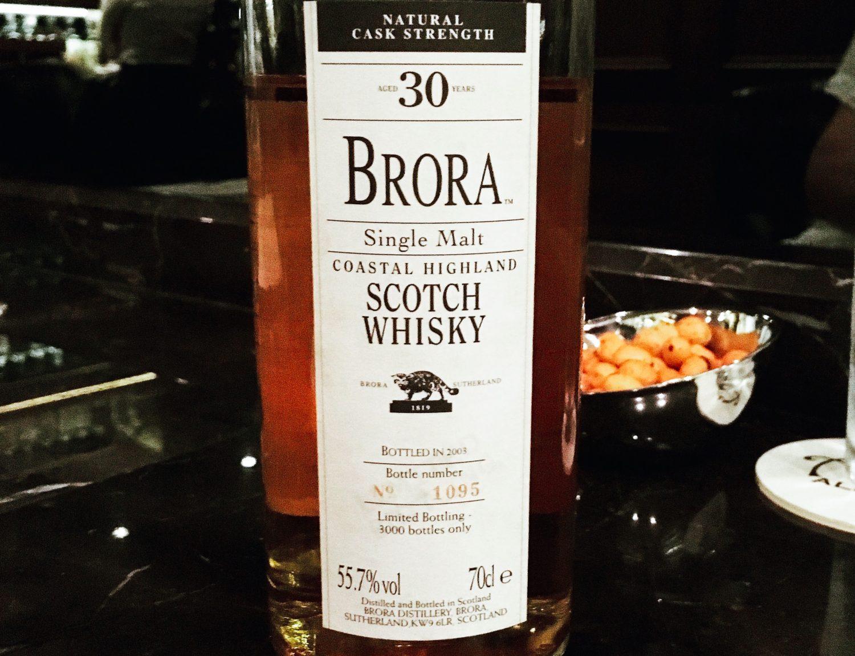 Brora 2nd Release (557%, OB 2003) L Idéal Type